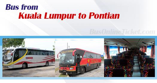 Bus from KL to Pontian