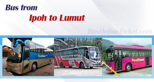 Bus from Ipoh to Lumut
