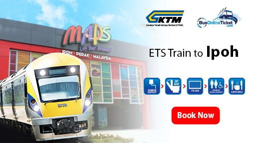ETS Train to Ipoh