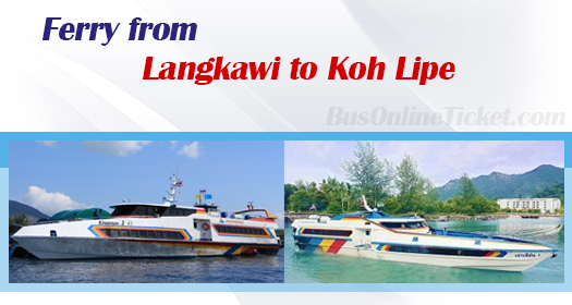 Ferry from Langkawi to Koh Lipe