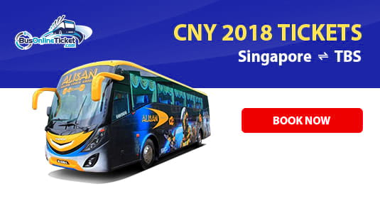 Travelling with Alisan Golden Coach During Chinese New Year 2018