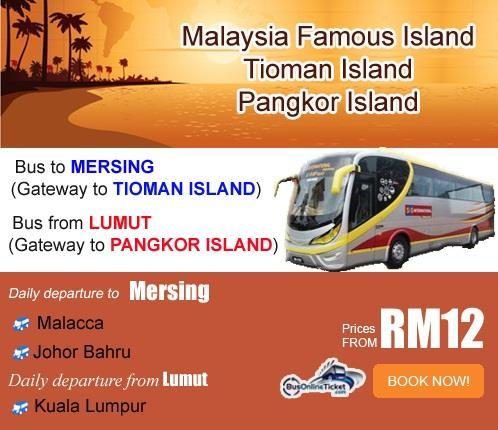 bus to mersing