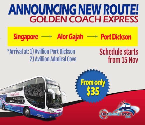 bus from singapore to port dickson