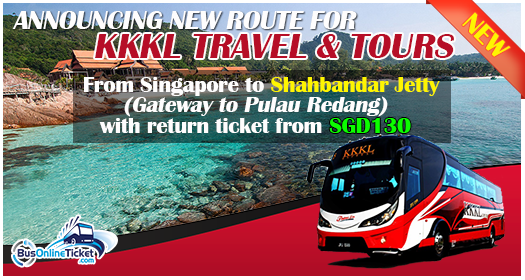New route for KKKL Travel & Tours: Singapore to Shahbandar Jetty
