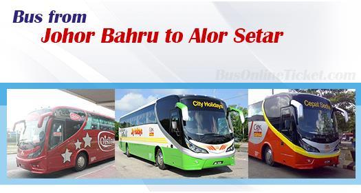 Bus from Johor Bahru to Alor Setar