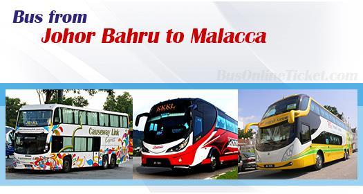 Bus from Johor Bahru to Melaka