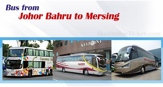 Bus from Johor Bahru to Mersing