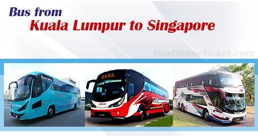 Bus from KL to Singapore