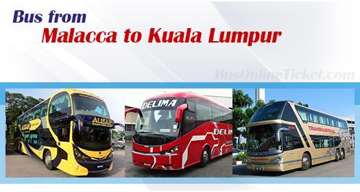 Bus from Malacca to Kuala Lumpur