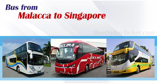 Bus from Malacca to Singapore