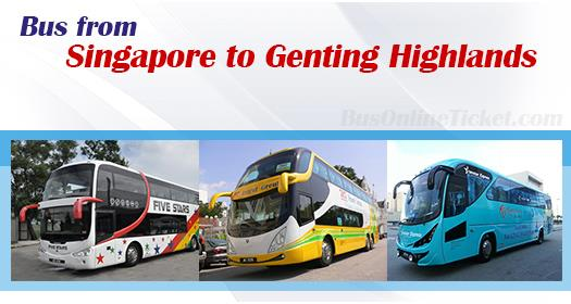 Bus from Singapore to Genting Highlands