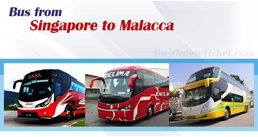 Bus from Singapore to Melaka