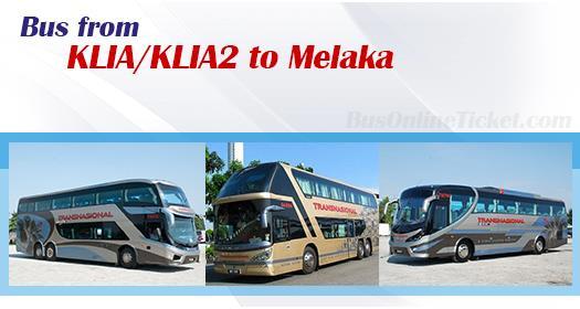 Bus from KLIA/KLIA2 to Melaka