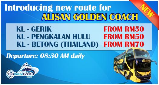 Kuala Lumpur to Gerik
