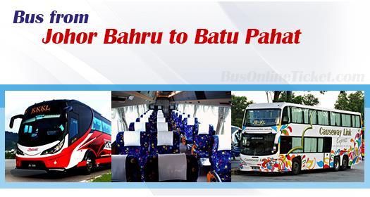 Bus from Johor Bahru to Batu Pahat