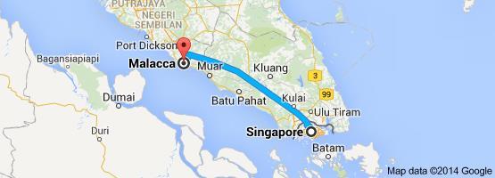 SG to Malacca