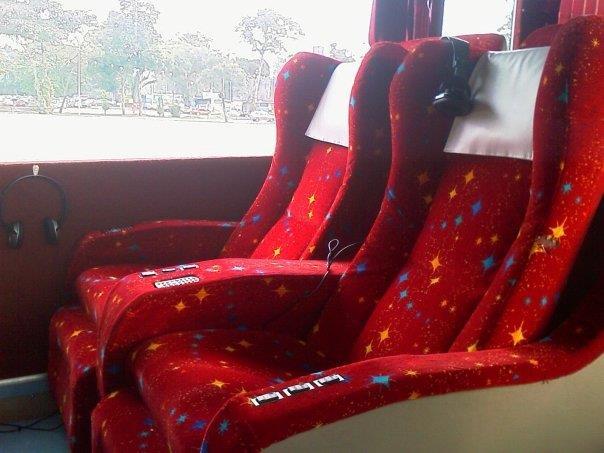 Konsortium express bus seat