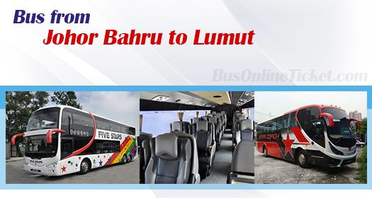 Bus from Johor Bahru to Lumut