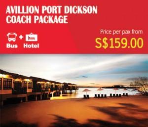 Avillion Port Dickson Coach Package