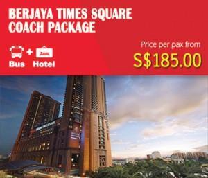 Berjaya Times Square Hotel, Kuala Lumpur Coach Package