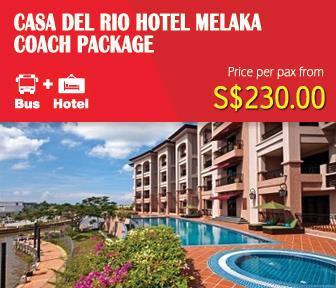 Casa Del Rio Hotel Melaka Coach Package