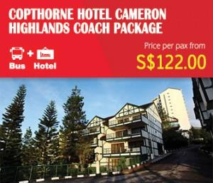 Cameron Highlands Free & Easy Coach Package