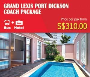 Grand Lexis Port Dickson Coach Package