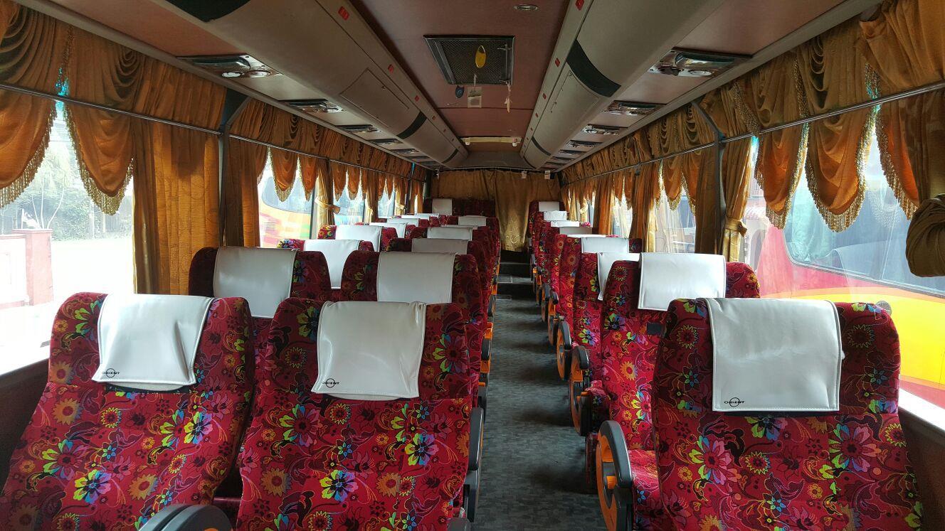 Mega Jaya Express Seat