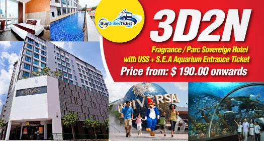 3D2N Fragrance / Parc Sovereign with USS & SEA Combo