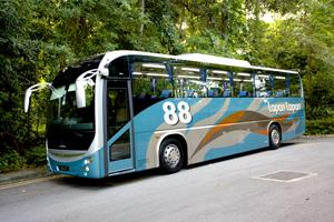 88 Lapan Lapan Travel Express Bus - Outer