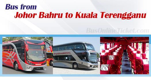 Bus from Johor Bahru to Kuala Terengganu