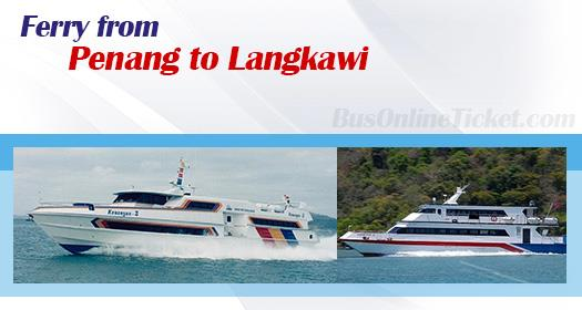 You can now book your ferry ticket for Penang to Langkawi from BusOnlineTicket.com