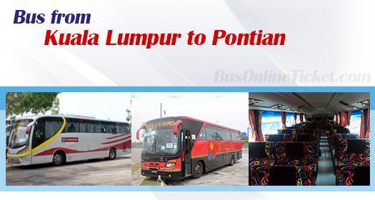Bus from Kuala Lumpur to Pontian