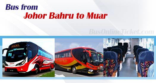Bus from Johor Bahru to Muar