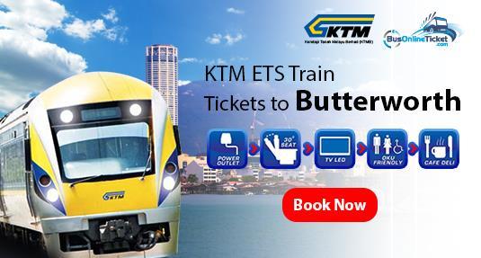 KTM/ETS Train to Butterworth