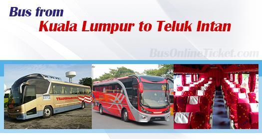 Bus from Kuala Lumpur to Teluk Intan