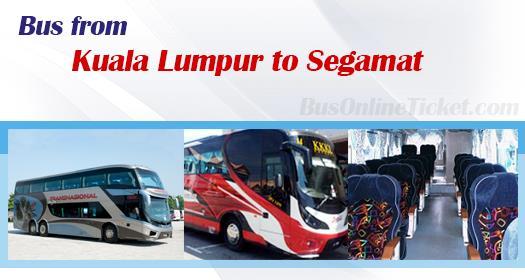 Bus from Kuala Lumpur to Segamat