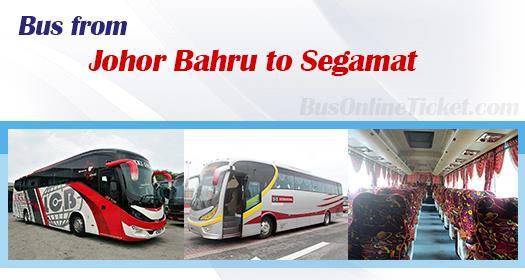 Bus from Johor Bahru to Segamat