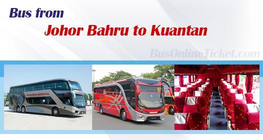Bus from Johor Bahru to Kuantan