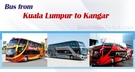 Bus from KL to Kangar