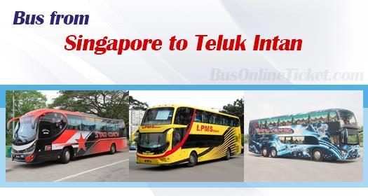 Bus from Singapore to Teluk Intan