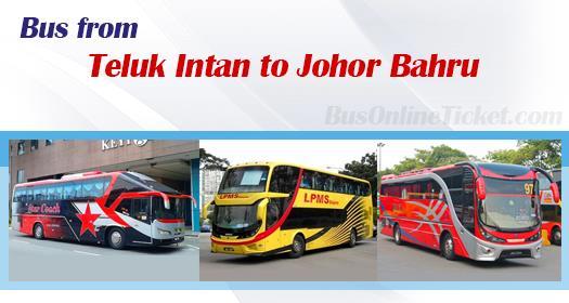 Bus from Teluk Intan to Johor Bahru