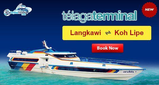 Telaga Terminal ferry from Langkawi to Koh Lipe at BusOnlineTicket.com