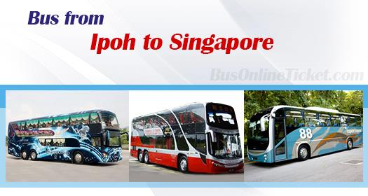 Bus from Ipoh to Singapore