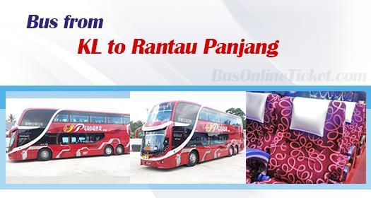 Bus from Kuala Lumpur to Rantau Panjang