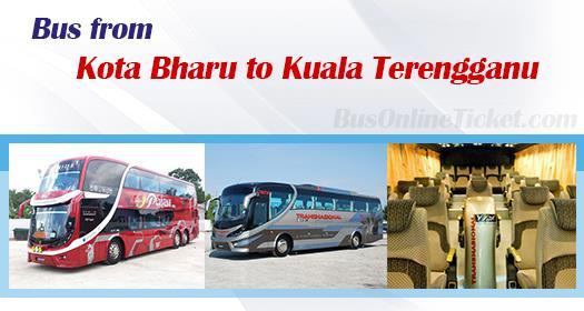 Bus from Kota Bharu to Kuala Terengganu
