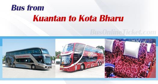 Bus from Kuantan to Kota Bharu