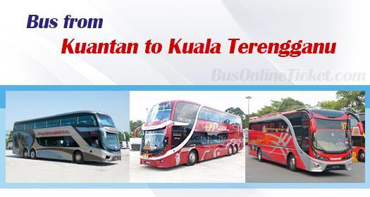Bus from Kuantan to Kuala Terengganu