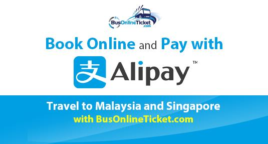 BusOnlineTicket.com Makes Payment Easy with Alipay
