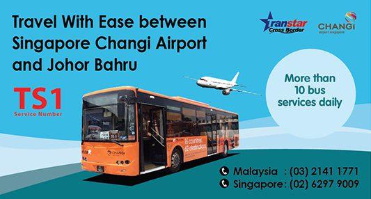 [Sponsored] Shuttle bus between Singapore Changi Airport and JB CIQ